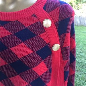 crown & ivy Sweaters - Crown & Ivy Pullover Sweater Cape One Size